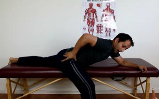 Hip And Inner Thigh Stretch