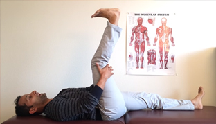 Technique for lower back and sciatic nerve pain